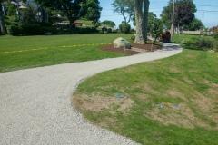 Brewster Gardens Plymouth MA path